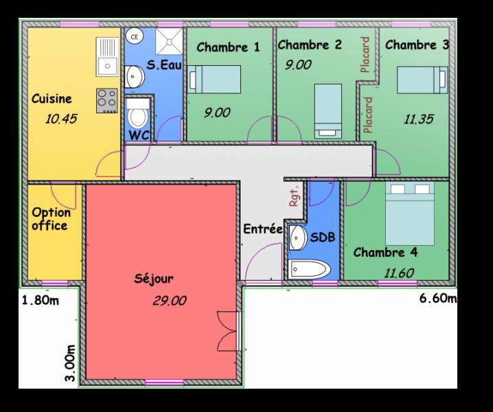 maisons en l biokit habitat. Black Bedroom Furniture Sets. Home Design Ideas