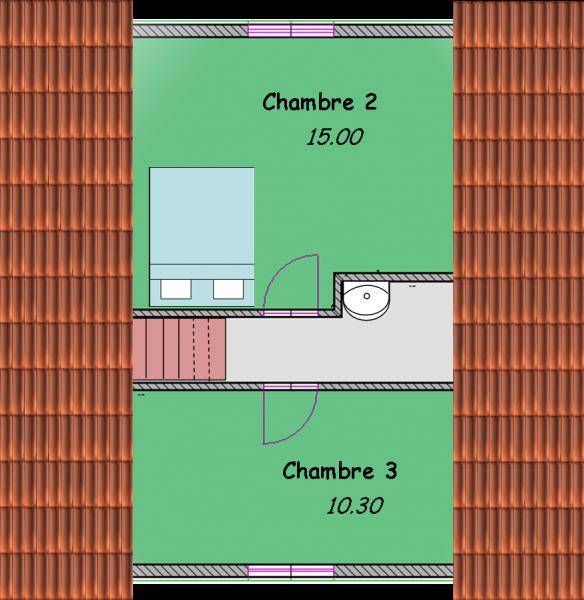 chalets tage biokit habitat. Black Bedroom Furniture Sets. Home Design Ideas