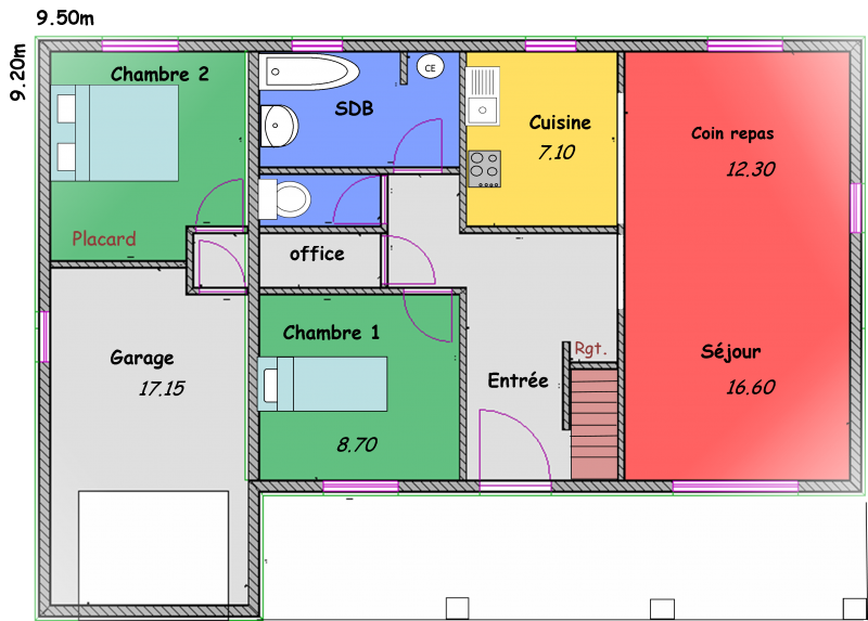 maisons landaises biokit habitat. Black Bedroom Furniture Sets. Home Design Ideas