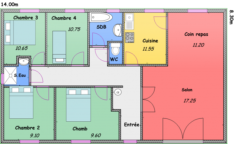 citadines biokit habitat. Black Bedroom Furniture Sets. Home Design Ideas