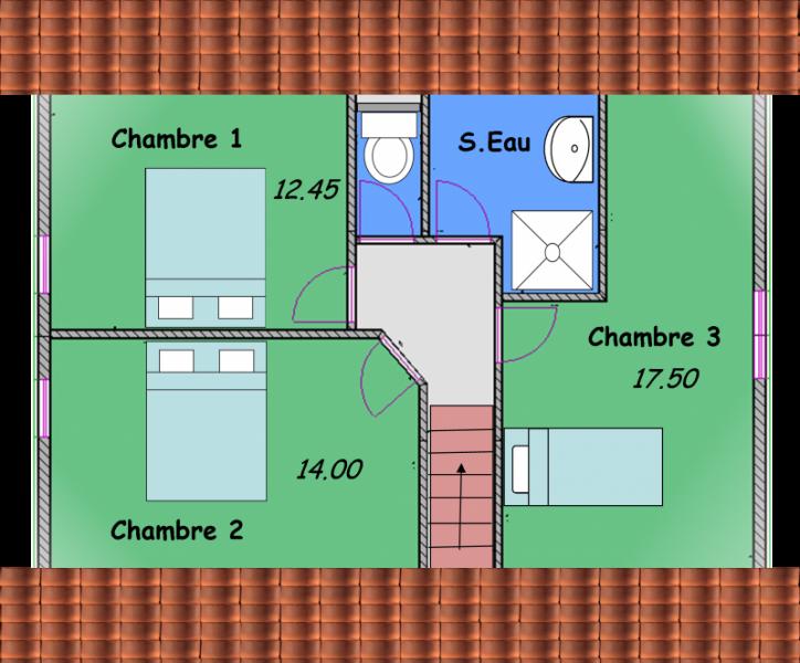 alsace 3 maisons avec combles biokit habitat. Black Bedroom Furniture Sets. Home Design Ideas