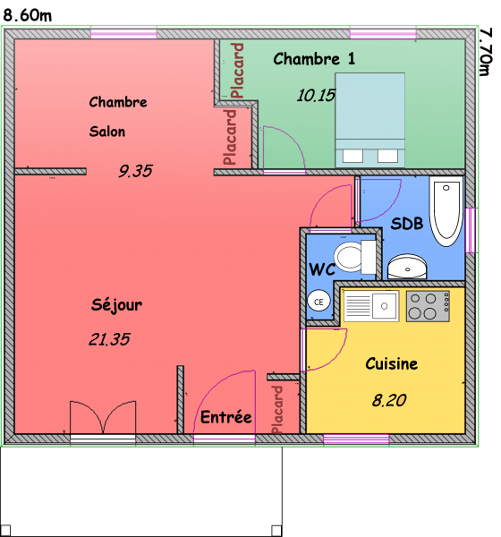 les mas biokit habitat. Black Bedroom Furniture Sets. Home Design Ideas